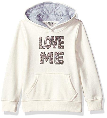 Amazon: Calvin Klein Girls' Love Me Popover Hoodie 6x para niña