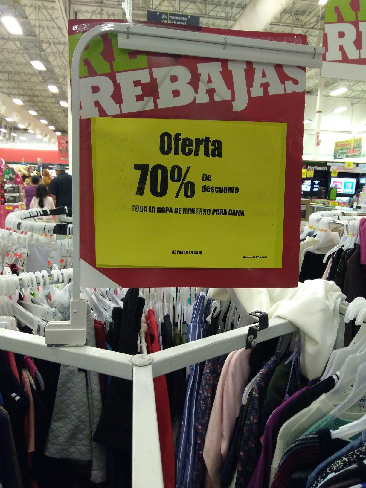 Soriana: 70% de descuento en ropa para dama de invierno