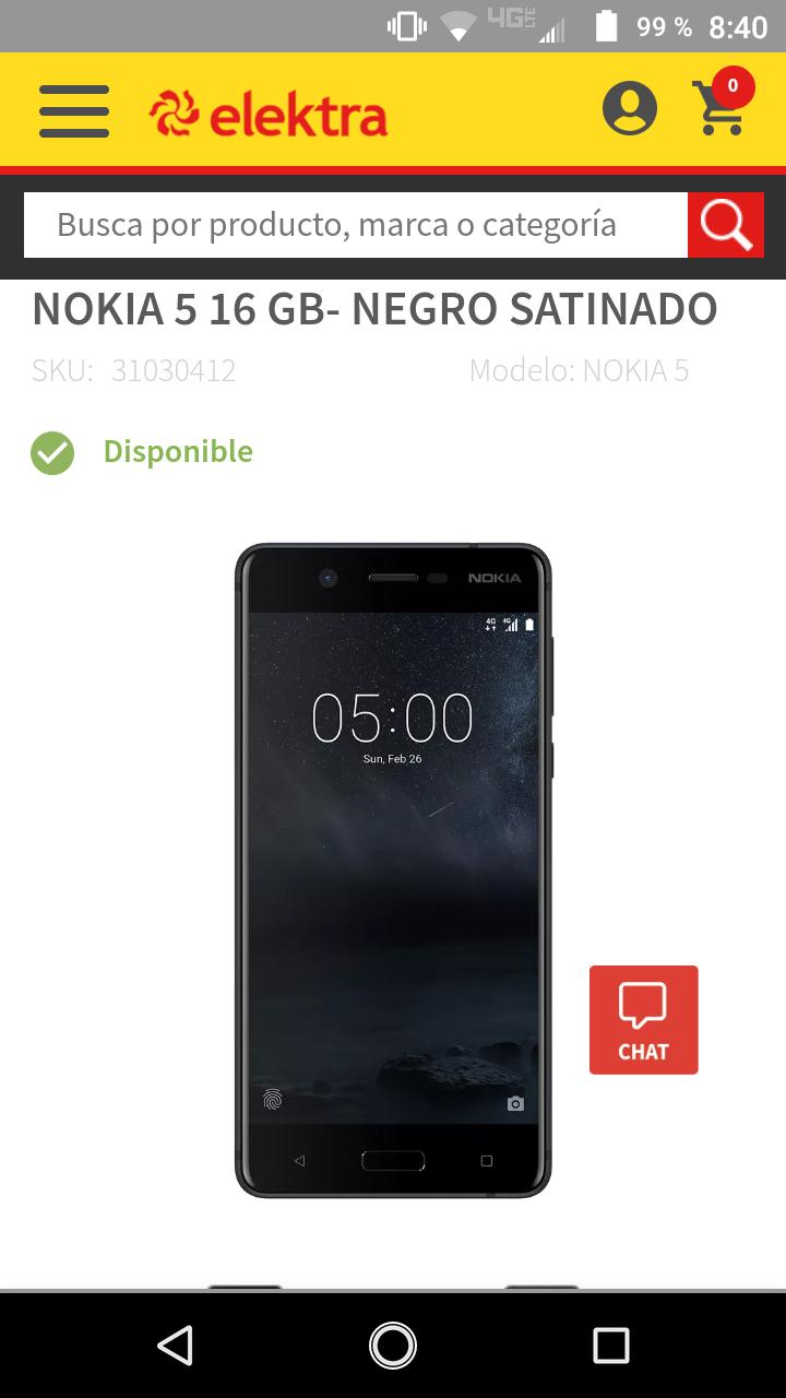 Elektra: Nokia 5 16Gb
