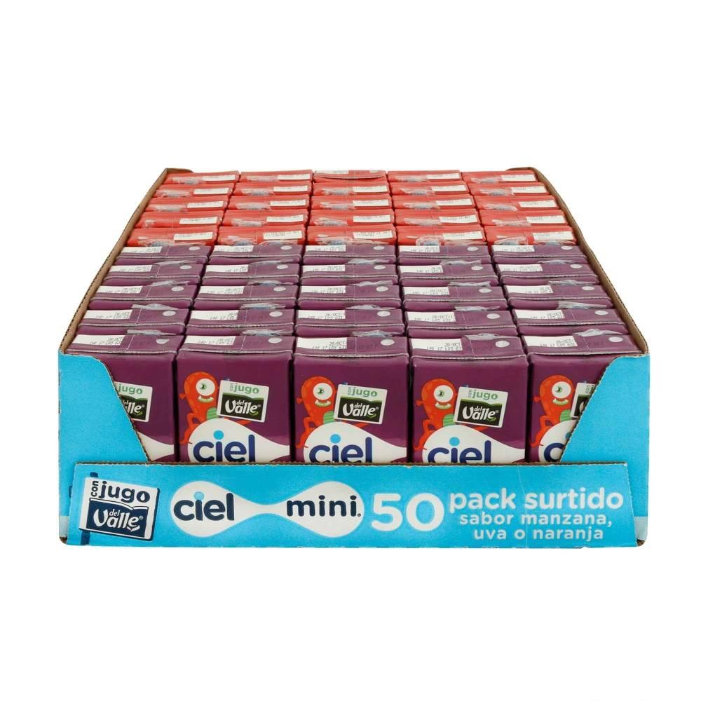 Sam's Club: Paquete 50 agua Ciel Mini Surtido (Desde $74 solo en algunas sucursales)