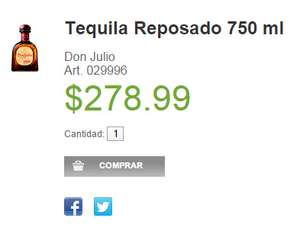 Sams Club: Don Julio Reposado en $279