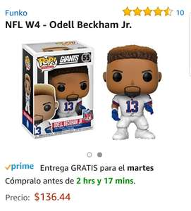 Amazon: Funko pop nfl Odell Bekham jr