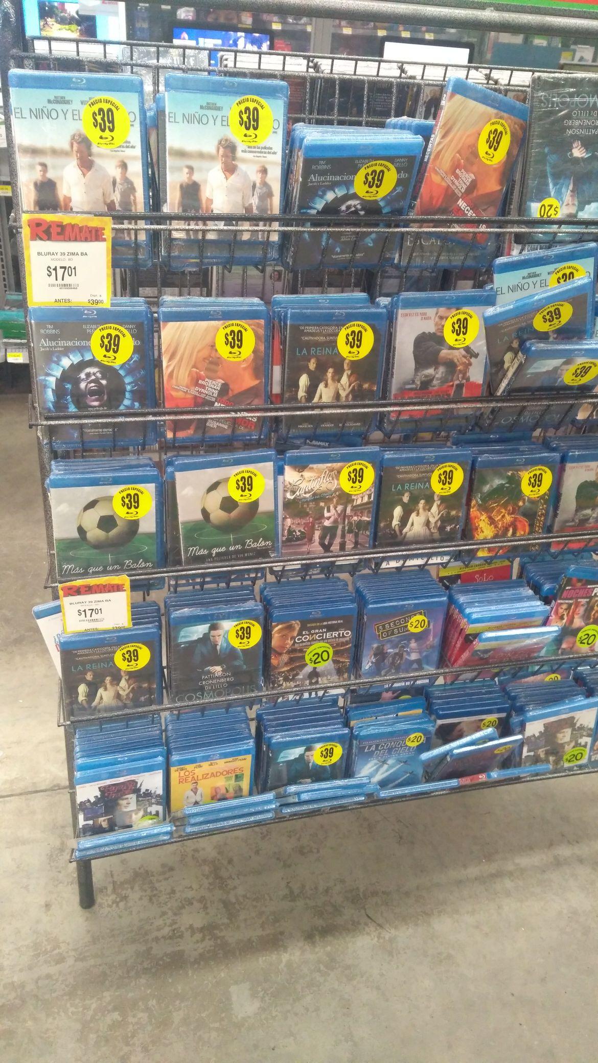 Bodega Aurrerá: todos los Blu-Ray Zima