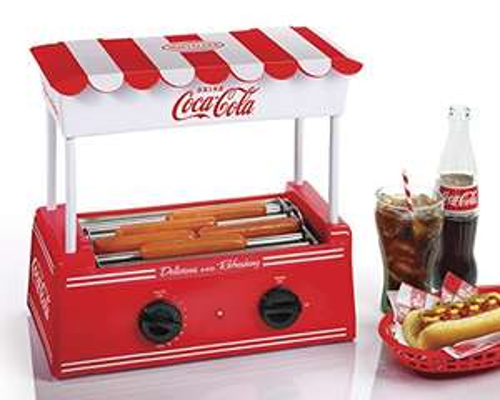 Amazon: Nostalgia Electrics Coca-Cola Hot Dog Roller