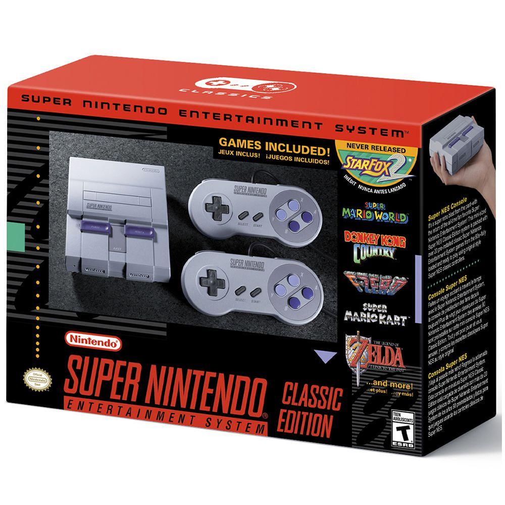 Elektra: Consola Nintendo SNES Mini a $2,599