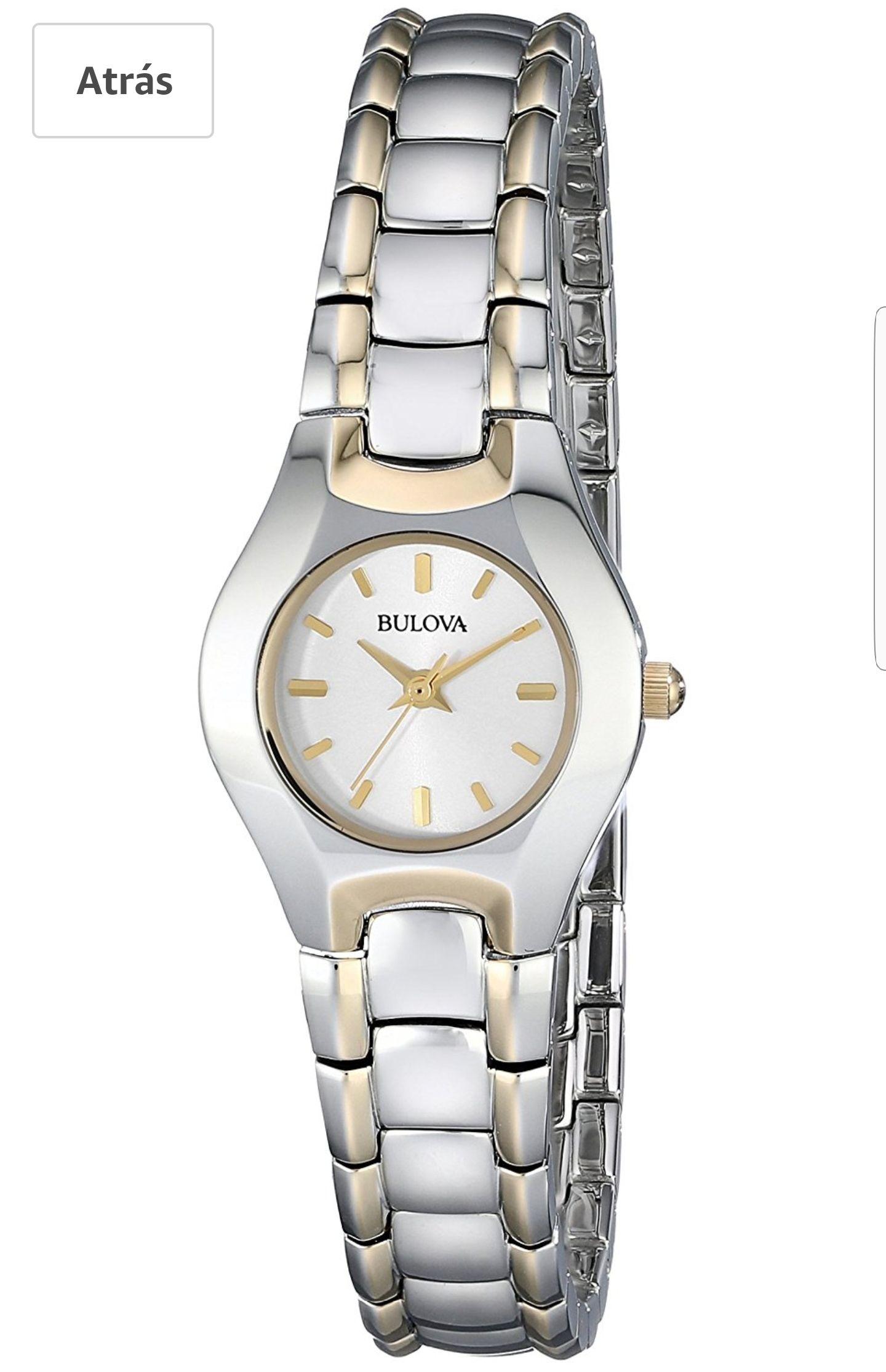 Amazon: Reloj Bulova Dama