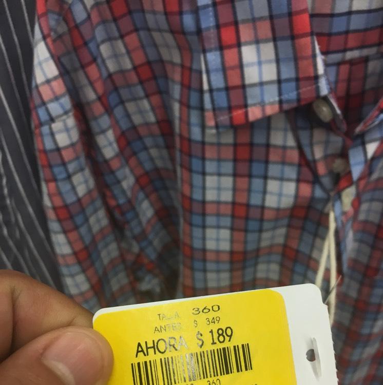Coppel: Camisa Dockers $189 (Talla S)