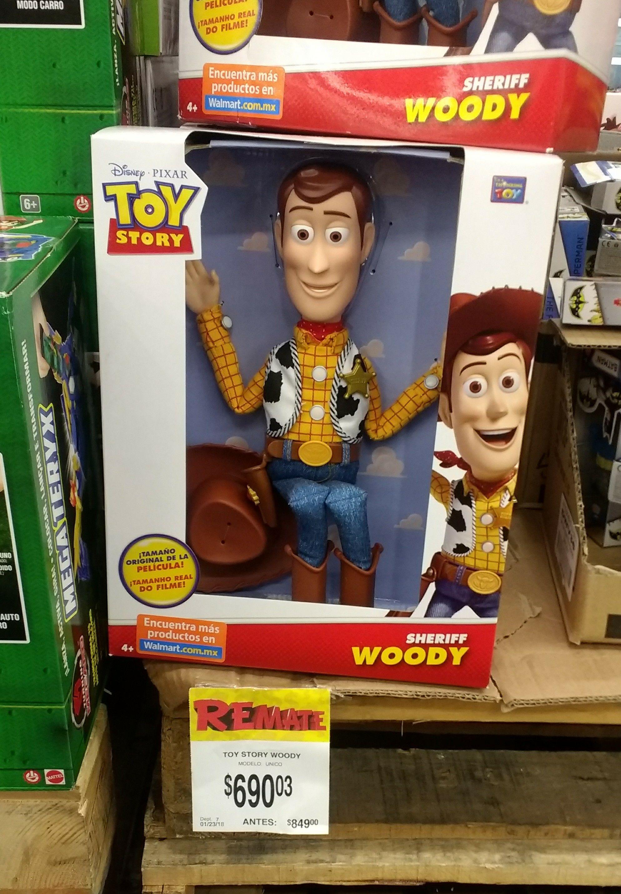 Bodega Aurrerá: Woody en rematé