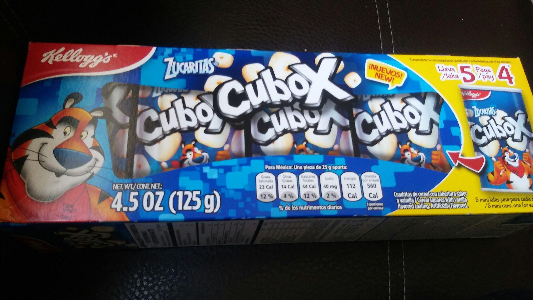 Walmart: Cubox zucaritas