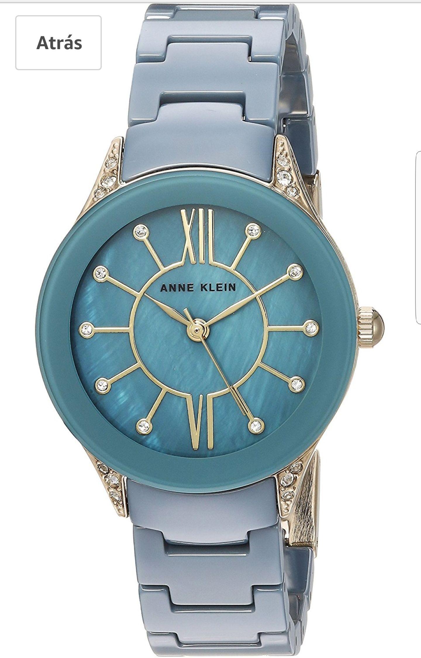 Amazon: Relojes Anne Klein a buen precio