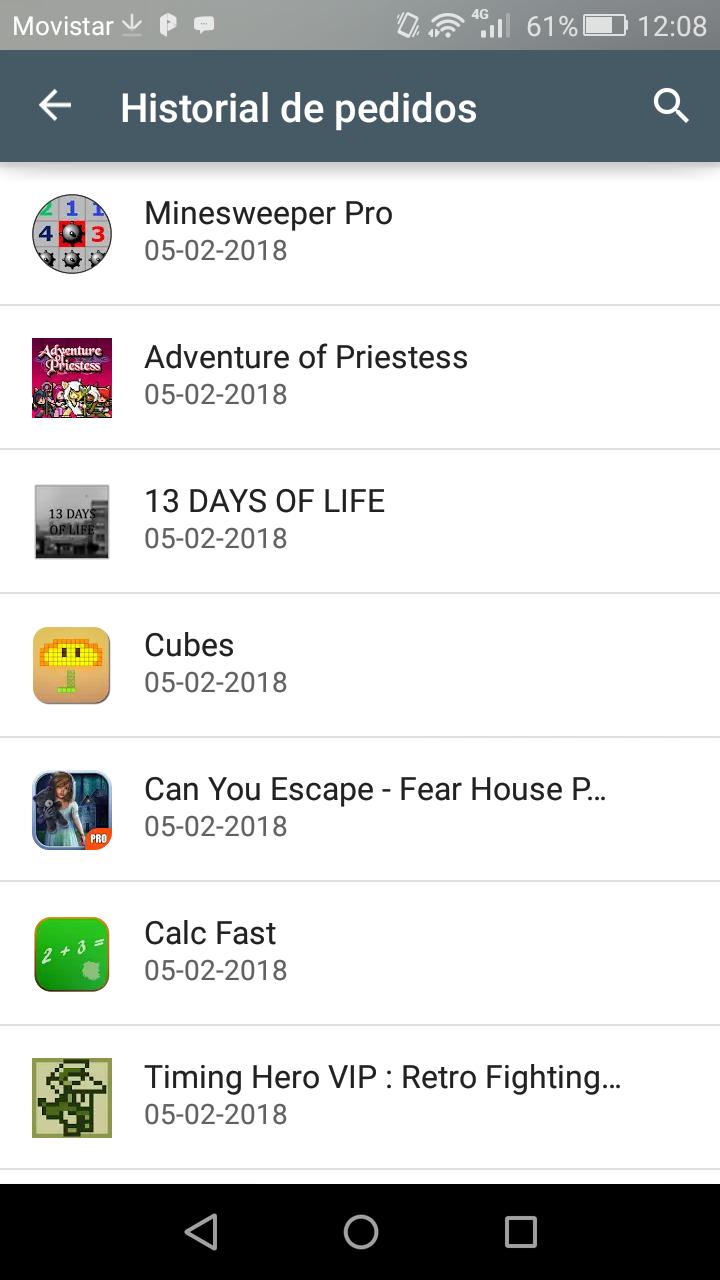 Play Store: Apps en liquidación