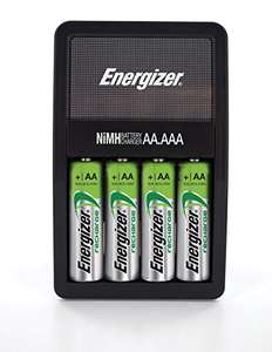 Amazon: Energizer NiMH Charger + 4 Pilas