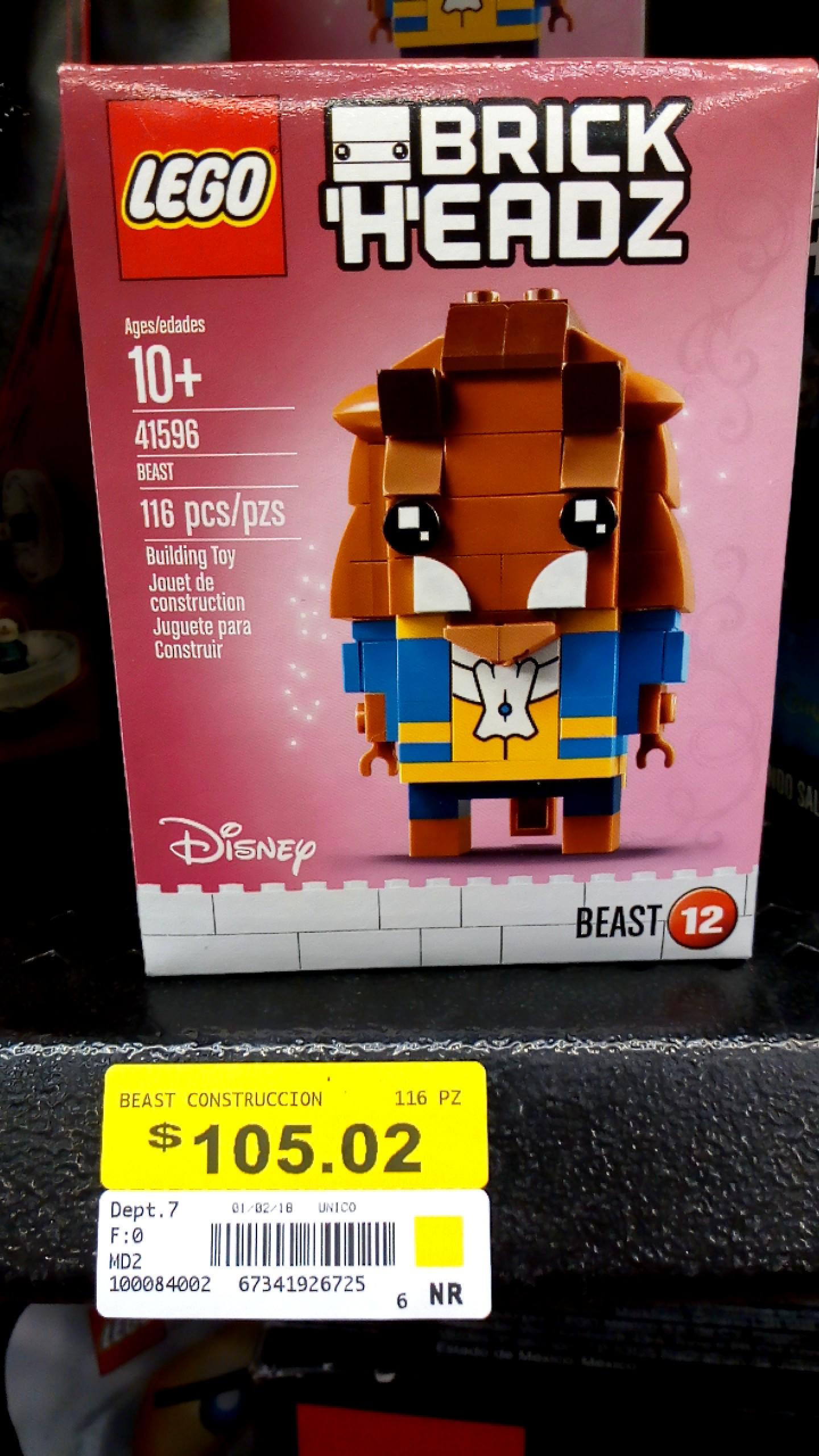 Walmart: Brick Headz La Bestia