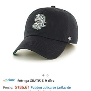 Amazon: Gorra NCAA Michigan State Spartans, X-Large