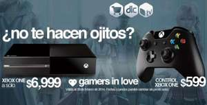 Gamers: Xbox One $6,999 y control $599