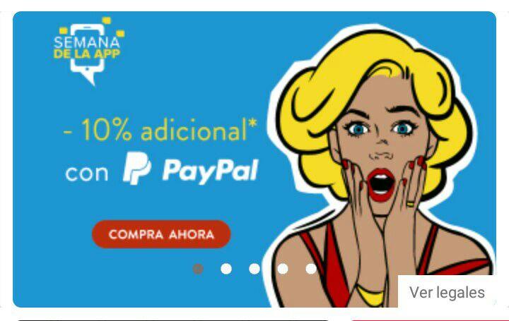 Linio: -10% de descuento con Paypal