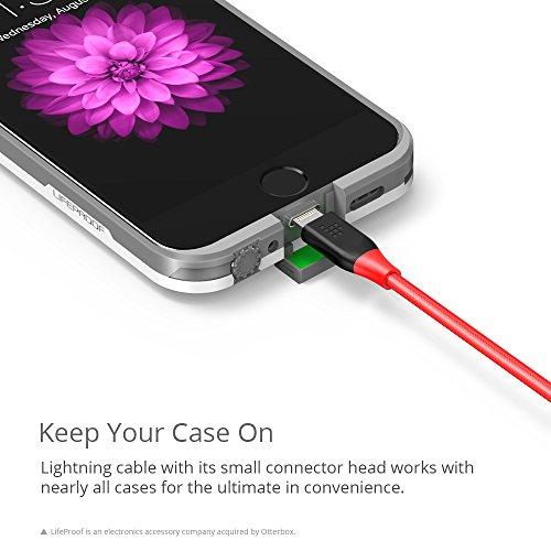Amazon Mx: Cable Lighting, marca Tronsmart,1.8M,con Certificación Apple, de Nylon Double Trenzado.