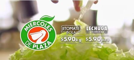 La Comer: Miércoles de Plaza 7 Febrero: Jitomate Saladet $5.90 kg... Lechuga Romana $5.90 pza... Manzana Starking $19.50 kg... Limón Agrio $19.50 kg.