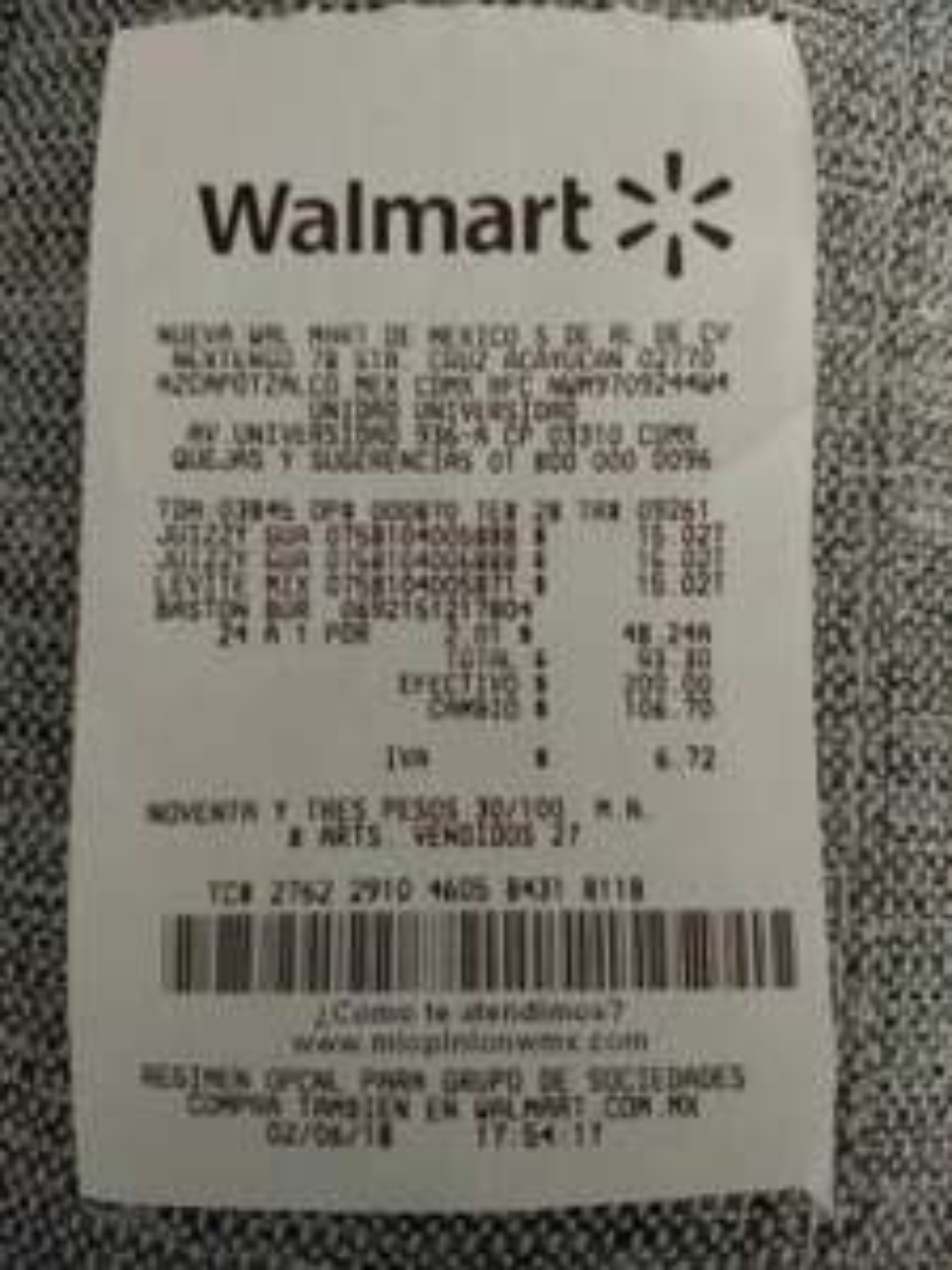 Walmart: Burbujero