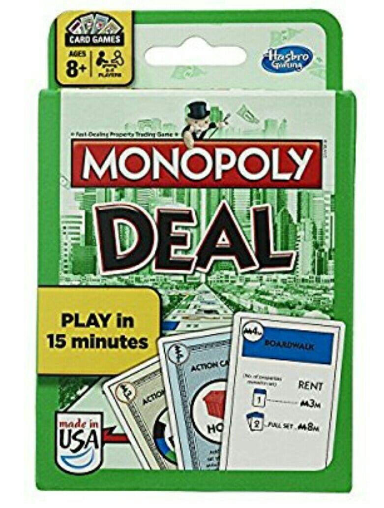 Amazon: Monopoly Deal juego de cartas (Prime):