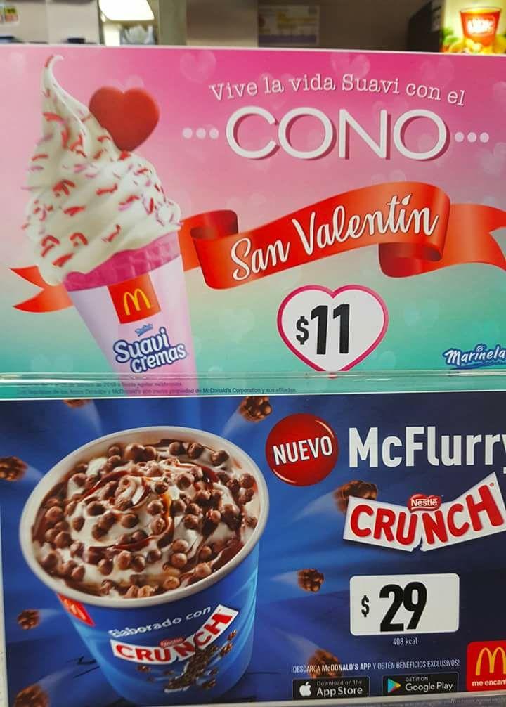 McDonald's: Nuevo Cono Suavicremas de Fresa
