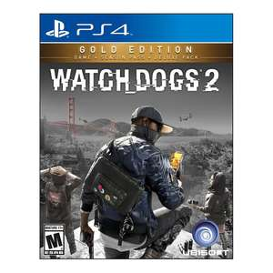 Walmart: Watch dogs 2 gold edition ps4