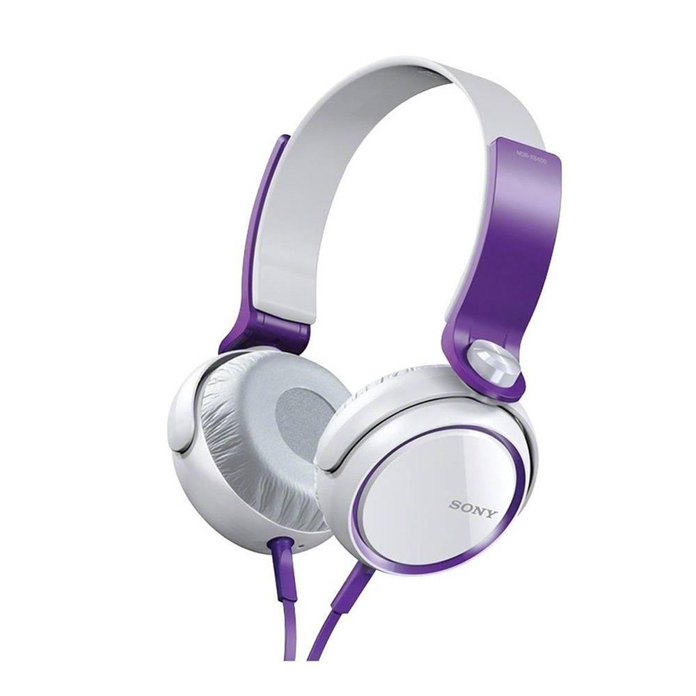 Walmart: Audífonos On Ear Sony MDR-X400/VCU Violeta