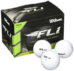 Amazon: 12 Bolas para GOLF Wilson Staff F.L.I. (PRIME)