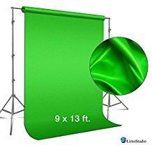 Amazon: LimoStudio 2,7 x 4 m. Pantalla fondo verde Croma para efectos en estudio de fotografía y vídeo