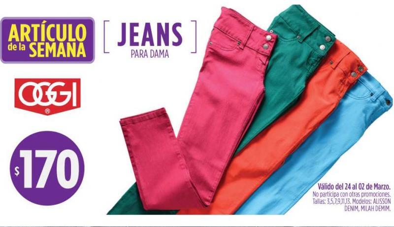 Artículo de la semana en Surburbia: jeans de mujer $170