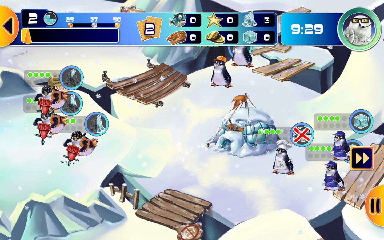 Play Store: gratis Farm Frenzy PRO: Penguin Kingdom