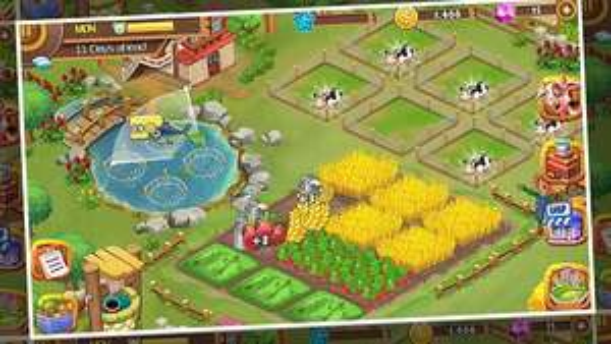 Play Store: gratis Farm Frenzy PRO: Happy Village near Big Town