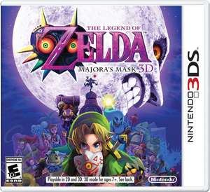 StartGames: THE LEGEND OF ZELDA MAJORA´S MASK .- 3DS