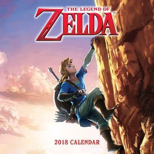 Amazon: Calendarios 2018 de Zelda, Mario, Overwatch o Splatoon a $71