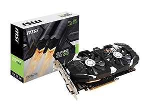 Amazon: MSI GeForce GTX 1060 6GT OCV1 Tarjeta Video 6GB, GDDR5, ATX, PCI Express x16 3.0