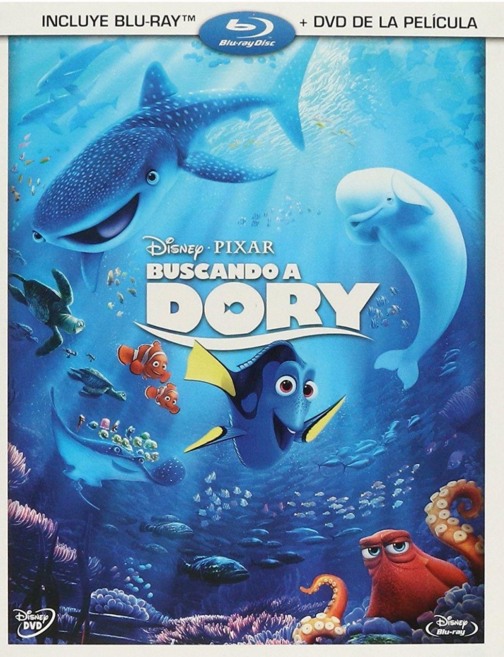 Amazon:  Buscando a dory bluray + dvd