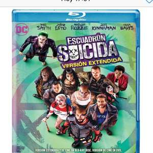Amazon MX: Suicide Squad [Blu-ray]