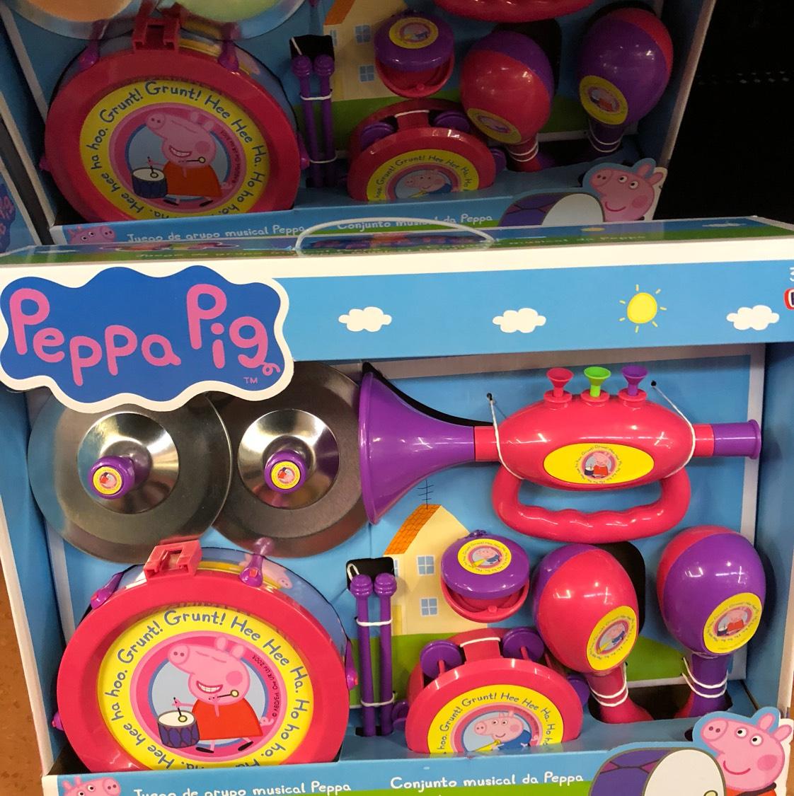 Walmart: Set musical peppa pig a $69.01
