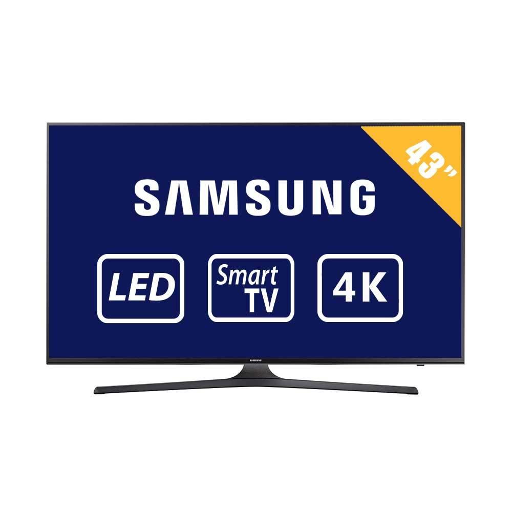 """Walmart: Pantalla 43"""" 4K Samsung UN43MU6103FXZX a $8,799"""