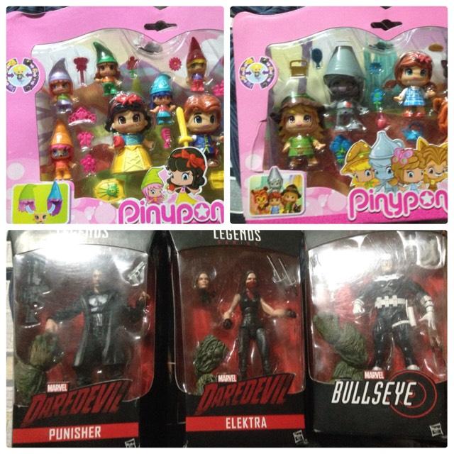 Walmart - Set de muñecos pinypon