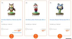Walmart Online: Amiibos de Animal Crossing Nintendo