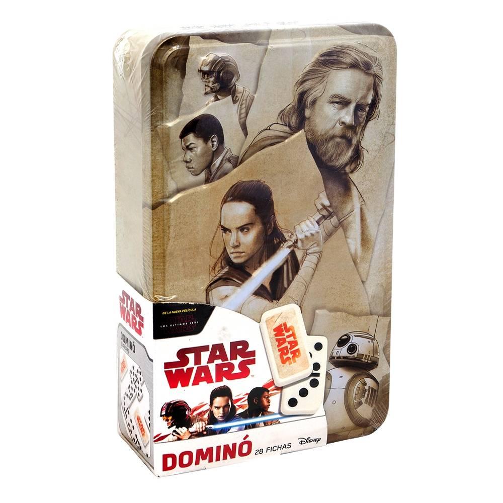 Walmart Online: Star Wars Dominó Caja Metálica