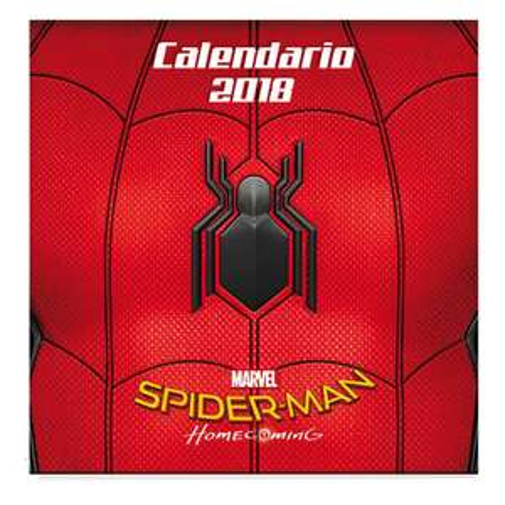 Walmart Online: Spiderman Home Coming Calendario 2018