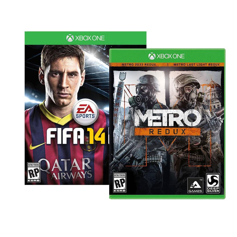 Walmart: FIFA 14 y Metro Redux para Xbox One