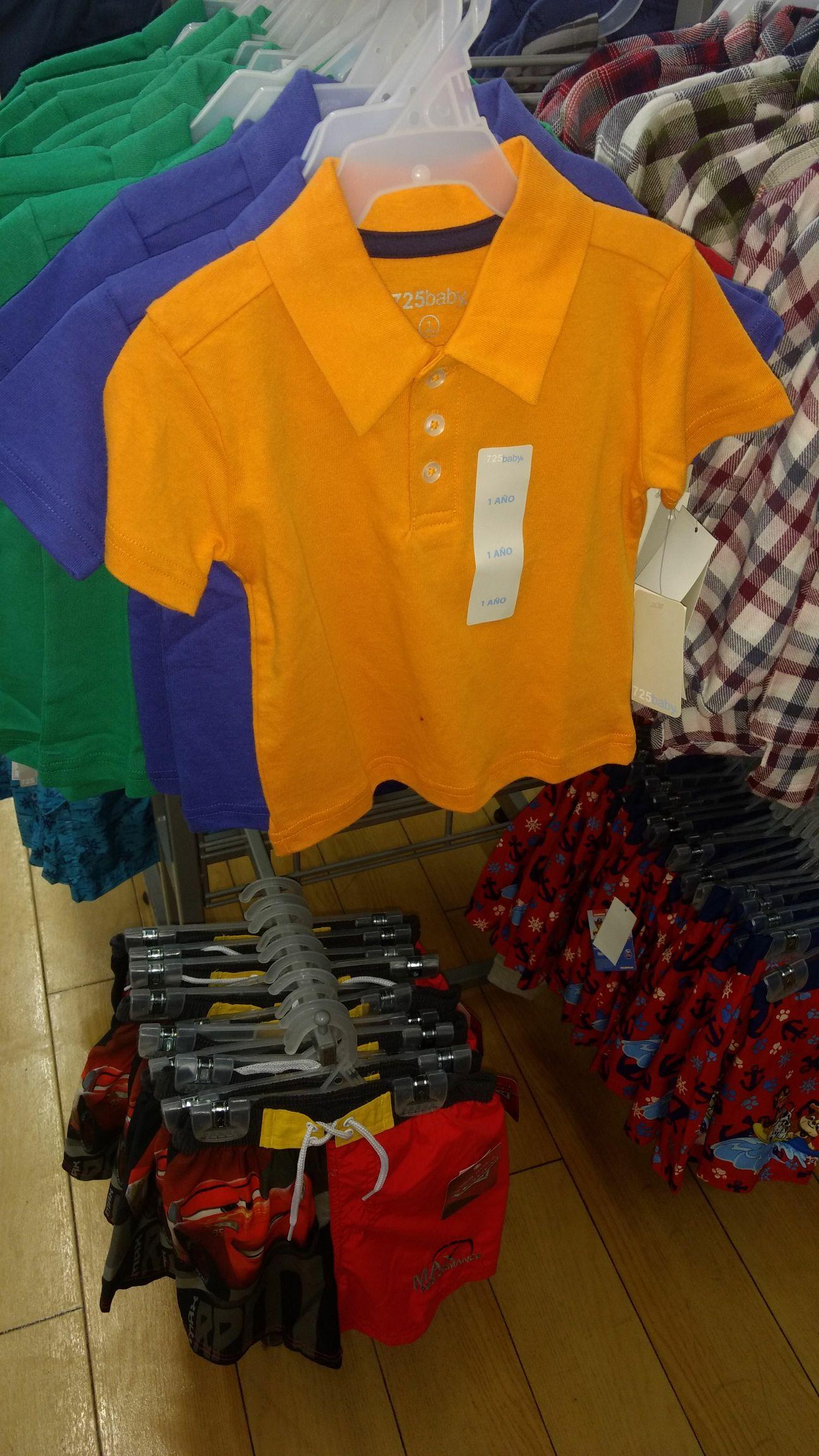 Walmart: Playeras tipo polo para bebe 1 a 3 años en $10 pesotes
