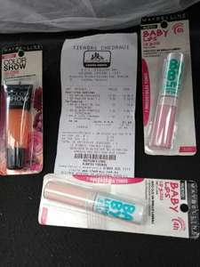 Chedraui Plaza Crystal Córdoba: Maybelline Color show Gloss $0.10