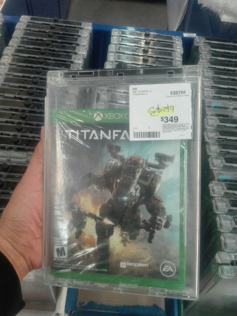 Sam's Club México 68 Culiacán: Titanfall 2 Xbox one
