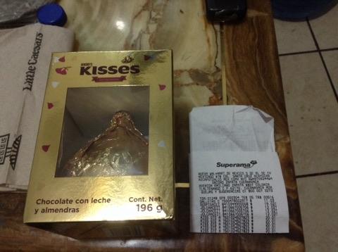 Superama: Kiss 196 g con almendras