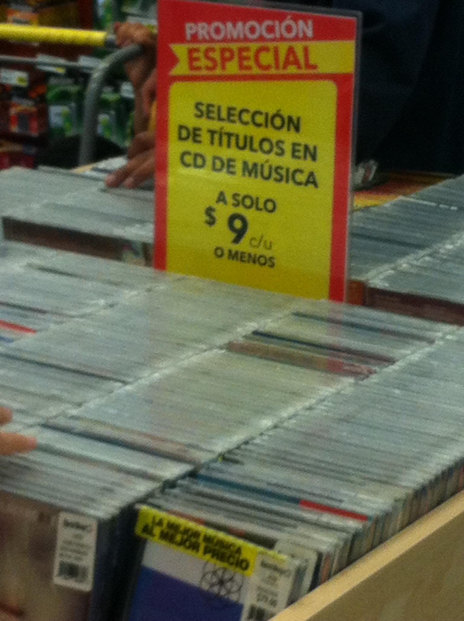 Best Buy: Discos de música en solo $9 pesos