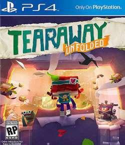 Mixup: Tearaway Unfolded PS4